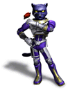 Pegatina Panther Caroso (Star Fox Assault) SSBB.png