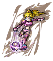 Pegatina Peach (Mario Strikers Charged) SSBB.png