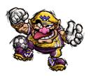Pegatina de Wario Mario Smash Football SSBB.png