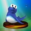 Diseño de Topi en la versión japonesa de Super Smash Bros. Melee.