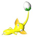 Pegatina del Pikmin amarillo SSBB.png