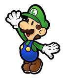 Pegatina de Luigi Super Paper Mario SSBB.png