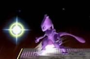 Mewtwo usando Confusión en Super Smash Bros. Melee