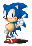 Pegatina Sonic clásico (Sonic The Hedgehog versión Japonesa).png