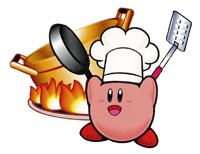 Pegatina de Kirby cocinero SSBB.png