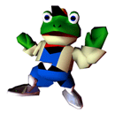 Pegatina Slippy Toad (Star Fox 64) SSBB.png