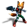 Pegatina Fox Star Fox Assault SSBB.png