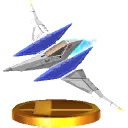 Trofeo de Arwing SSB4 (3DS).png