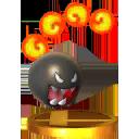 Trofeo de Chomp de fuego SSB4 (3DS).png