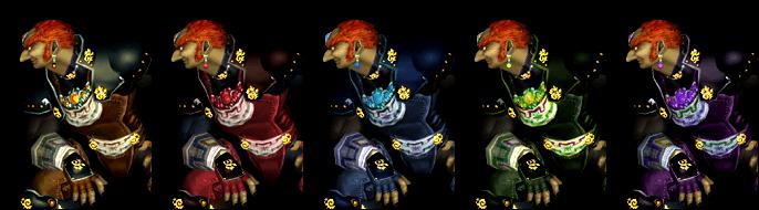 Paleta de colores Ganondorf SSBM.png
