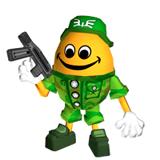 Pegatina de Huevo Chibi-Robo Park Patrol SSBB.png