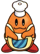 Art oficial de Cocinero Kawasaki en Kirby Super Star Stacker.png