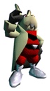 Pegatina Peppy Hare (Star Fox 64) SSBB.png