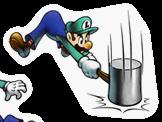 Pegatina de Luigi M&L Superstar Saga SSBB.png