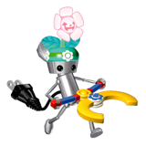 Pegatina de Chibi-Robo (Chibi-Robo Park Patrol) SSBB.png