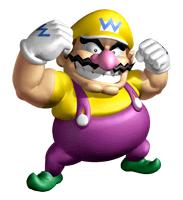 Pegatina de Wario Super Mario 64 DS SSBB.png