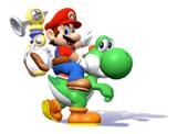 Pegatina Mario y Yoshi SSBB.png
