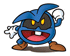 Pegatina de Virus azul SSBB.png