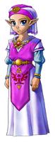 Pegatina de Zelda joven (Ocarina of Time).png