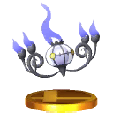 Trofeo de Chandelure SSB4 (3DS).png