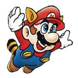 Pegatina de Mario Mapache SSBB.png
