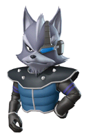 Pegatina Wolf Star Fox Command SSBB.png