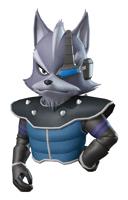 Pegatina Wolf Star Fox Command SSBB.png