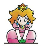 Pegatina Peach (Super Maro Bros. 2) SSBB.png