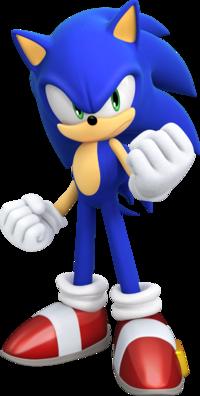 Art oficial de Sonic the Hedgehog en Sonic Forces