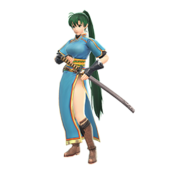 Art oficial de Lyn en Super Smash Bros. Ultimate.
