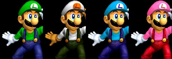 Paleta de colores Luigi SSBM.png