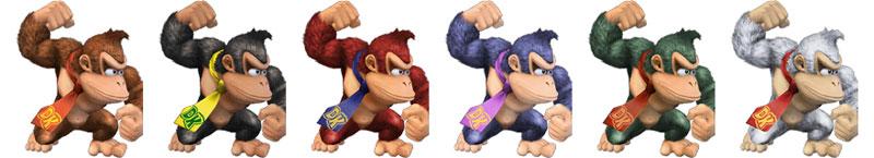 Paleta de colores Donkey Kong SSBB.jpg