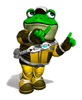 Pegatina Slippy Toad (Star Fox Assault)SSBB.png