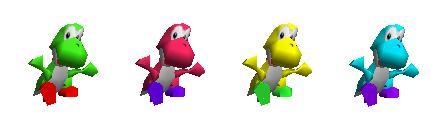 Paleta de colores Yoshi SSB.png
