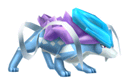 Pegatina Suicune SSBB.png