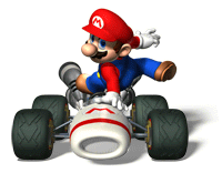 Pegatina de Mario Mario Kart DS SSBB.png