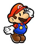 Pegatina de Mario Super Paper Mario SSBB.png