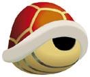 Art oficial del caparazón rojo en Super Smash Bros.