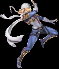 Art oficial de Sheik en Super Smash Bros. Ultimate