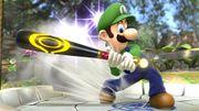 Luigi utilizando el Bate de Beisbol SSB4 (Wii U).jpg