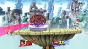Cerebro Madre atacando a Donkey Kong SSB4 (Wii U).png