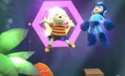 Lucas atacando a Mega Man en el Gran ataque de las cavernas SSB4 (Wii U).png