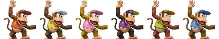 Paleta de colores de Diddy Kong SSBB.jpg