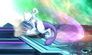 Ataque fuerte lateral Mewtwo (abajo) SSB4 (3DS).JPG