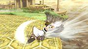 Ataque de recuperación desde el borde (2) Pit SSB4 Wii U.jpg