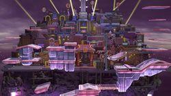 Vista del escenario en Super Smash Bros. Ultimate.