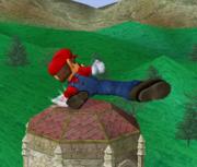 Ataque fuerte hacia abajo de Mario SSBM.png