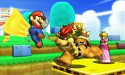 Mario, Bowser y Peach en Super Mario 3D Land SSB4 (3DS).jpg