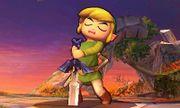 Toon Link con la espada maestra en el Campo de Batalla SSB4 (3DS).jpg