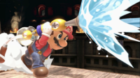 Mario con el ACUAC en Super Smash Bros. Ultimate